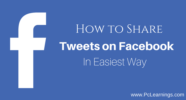 How to Share Tweets on Facebook