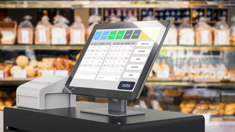 Image of POS System on Table