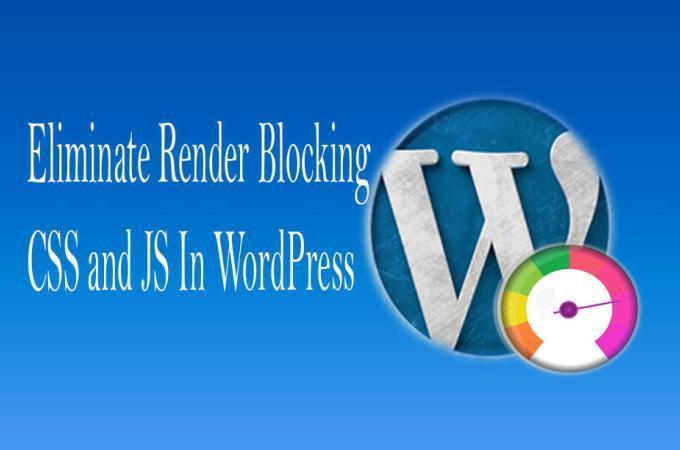Render Blocking JavaScript in WordPress